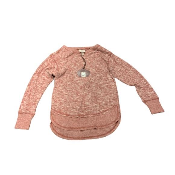 🌻NWT Knox rose maroon crew longsleeve sweater